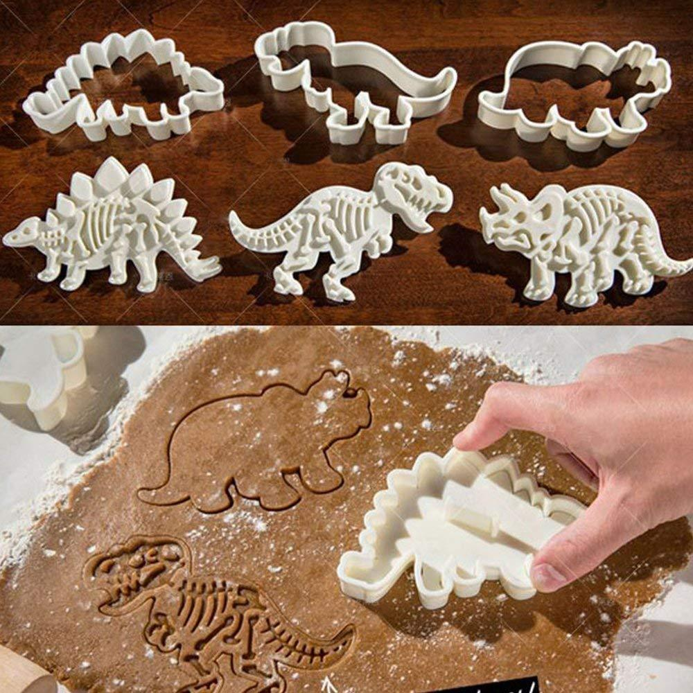 Dinosaur Fossil Cookie Cutter/Stampers