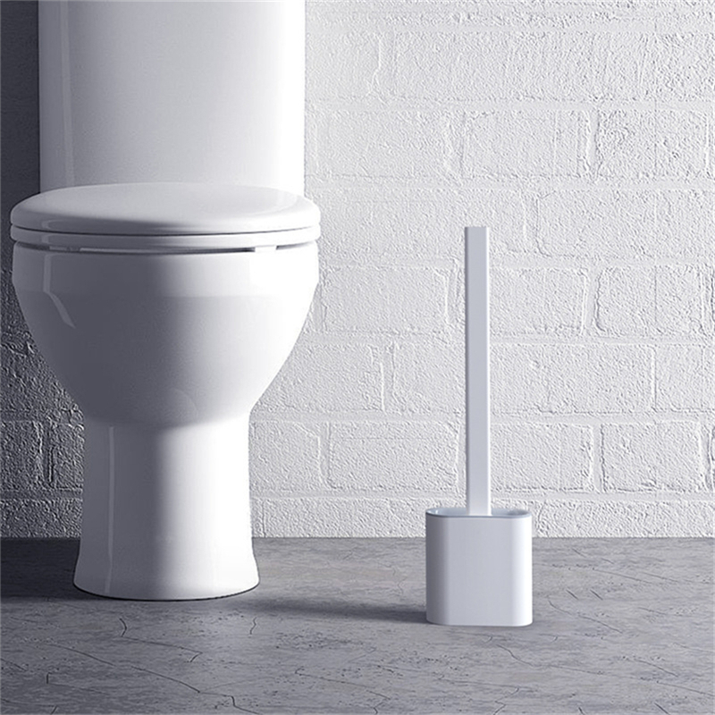 Cleaning Silicone Head Toilet Brush