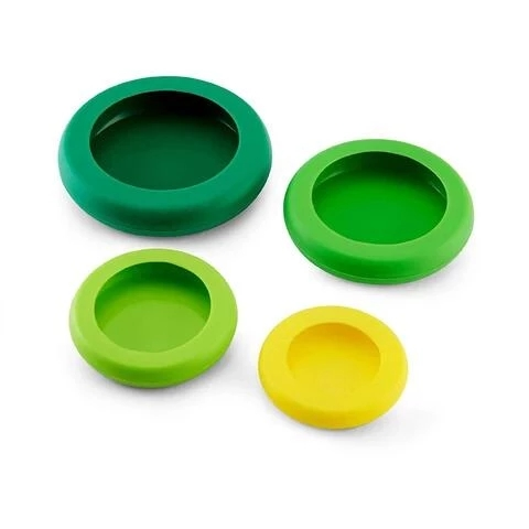 AHOME7 Silicone Food Preservation Cover Round Tray Storage Container