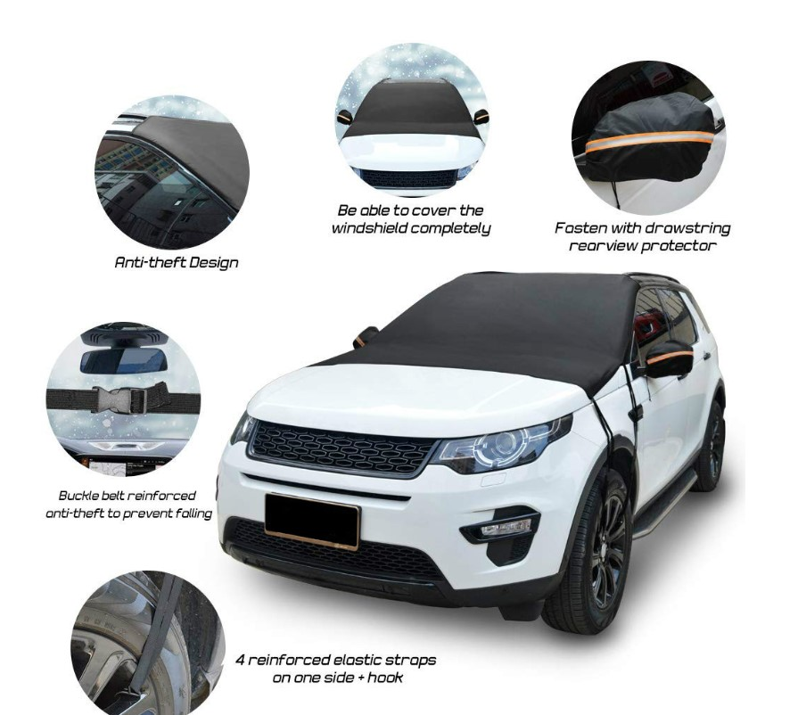 Hot Selling!!!Premium Windshield Snow Cover Sunshade