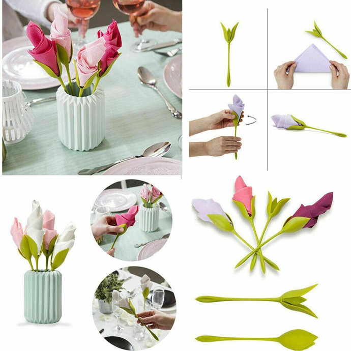 【Spring promotion】3-Second Bloom Napkin Folder