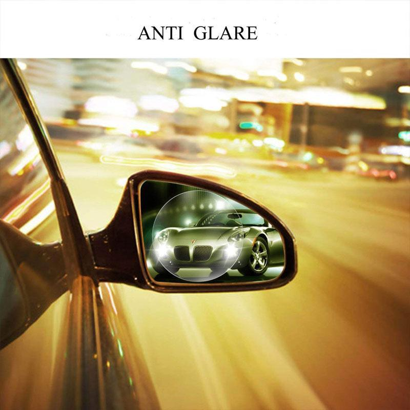 2pcs Anti-fog Anti-glare Rainproof Car Rearview Mirror Protective Film