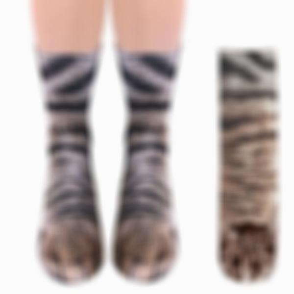 Realistic Animal Paw Socks (Various Designs)