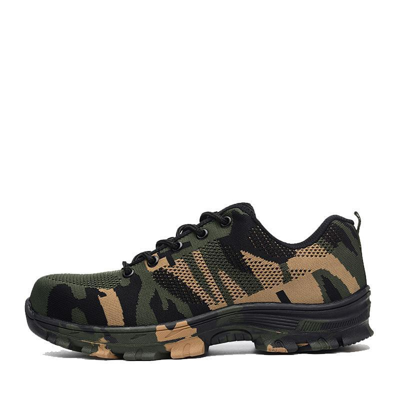 Labor safety military shoes