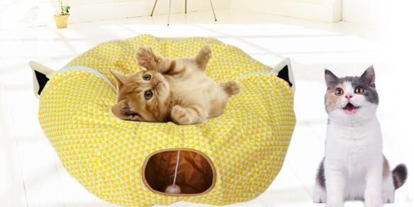 Folding Cat Channel * Nest Cat Bed