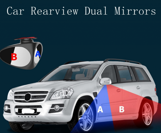 Blind Spot Side Mirrors for Side-Last Day Promotion 50% Off