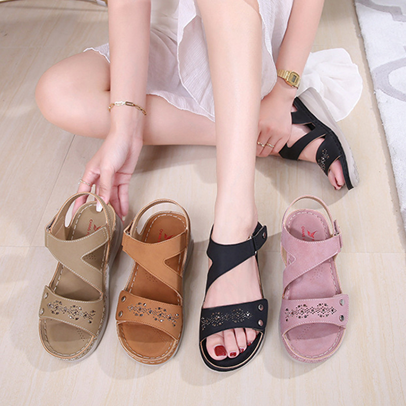 2021 ladies soft and comfortable sandals