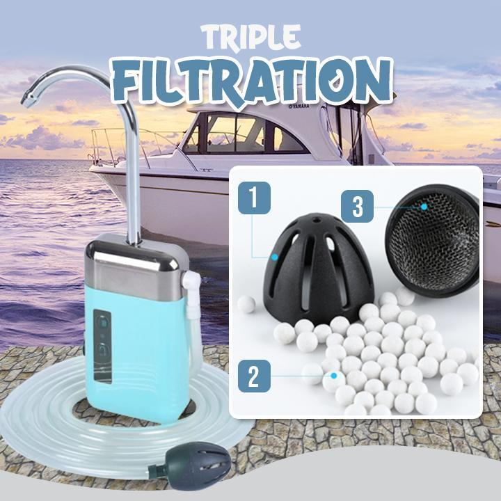 Rechargeable Fishing Portable Water Circulation Pump