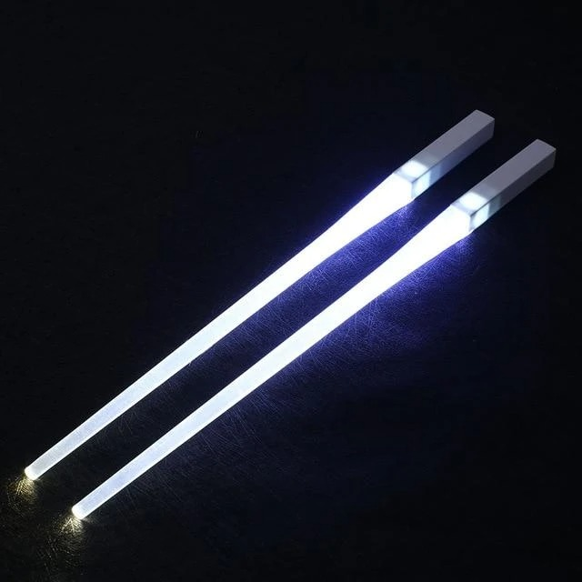 Last Day Promotion 50% OFF-Light-It-Up LED Glowing Chopsticks(1 pair)