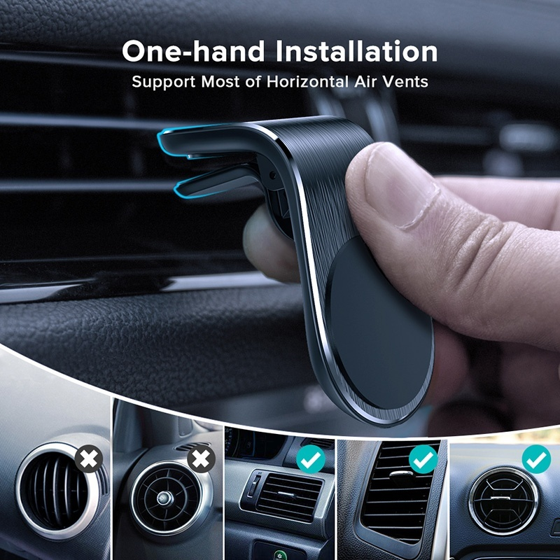 Car Phone Holder for Phone In Car Air Vent Clip Mount Magnetic Mobile Phone Holder Cell Mobile Phone Support GPS for IPhone