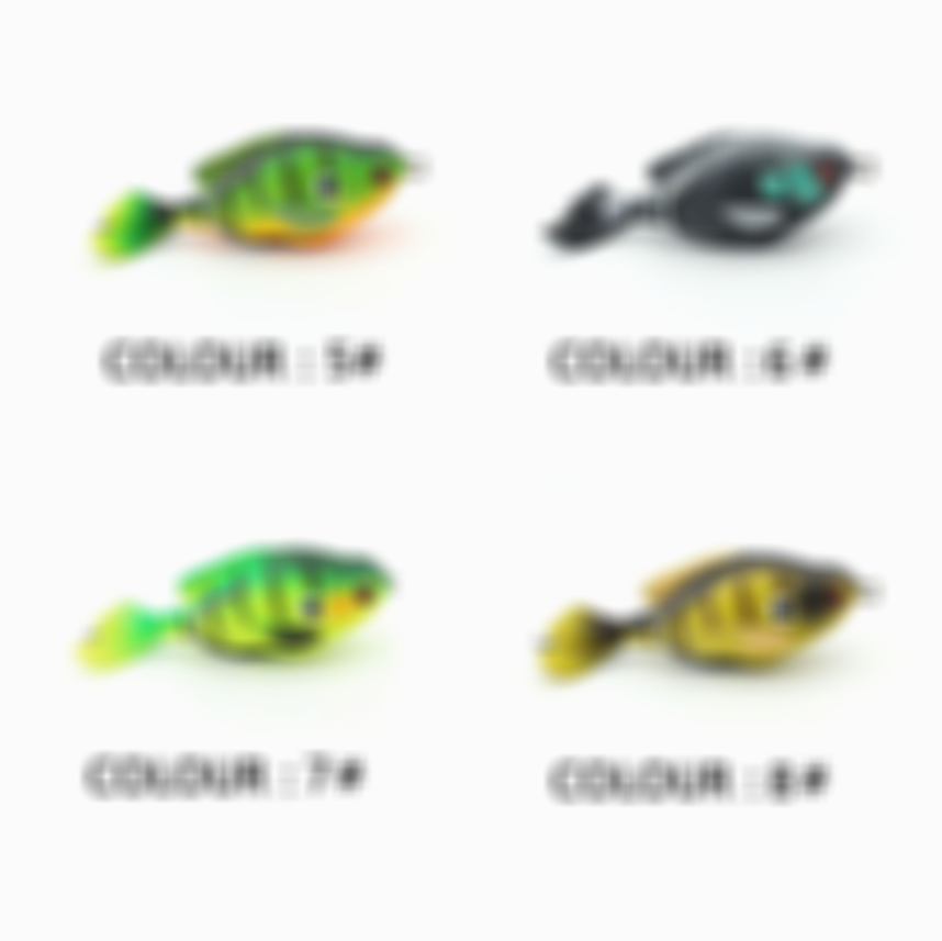 Prop Sunfish – Fishing Lure with Realistic Design