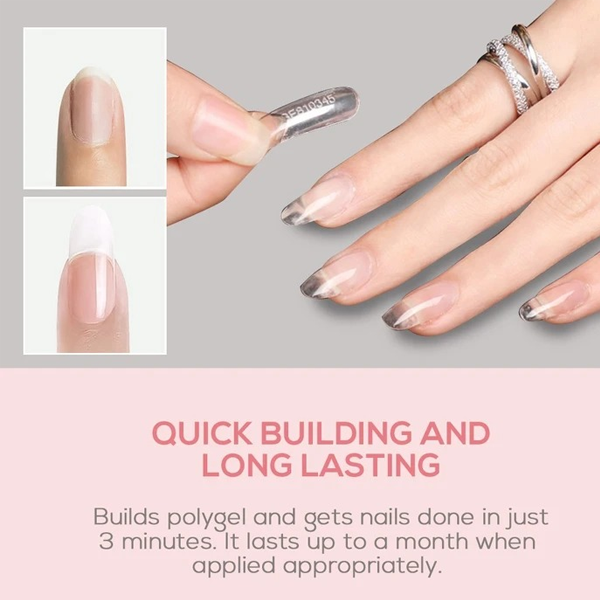 Last Day Promotion 60% OFF & On-Time Delivery】Mobray™ Easy PolyGel Nail Lengthening Kit