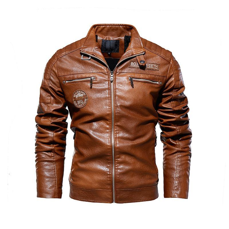 High Quality Fashion Coat Leather Jacket