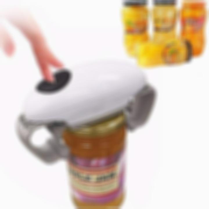 One Touch Automatic Glass Jar Bottle Opener