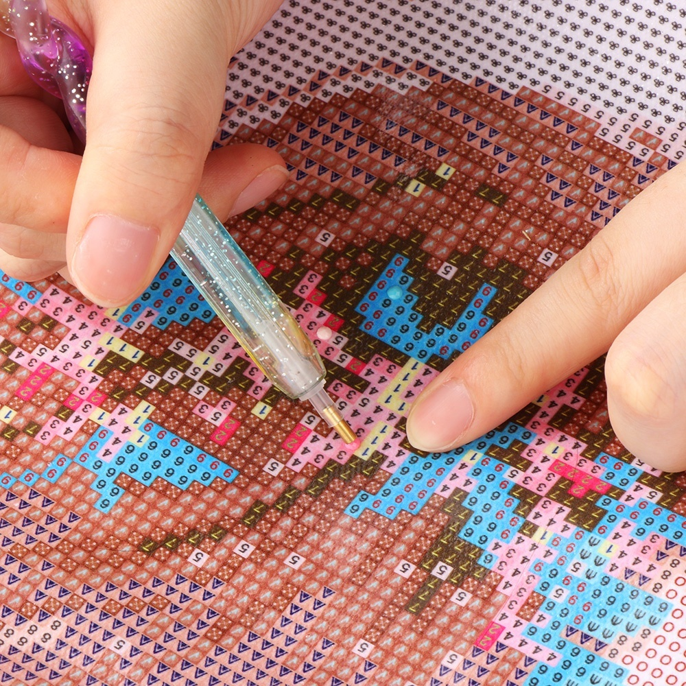 1 PC DIY Crafts Sewing Embroidery Tool 5D Diamond Point Drill Pen Painting Cross Stitch Accessories