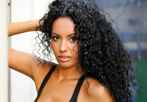 Lace Front Wigs Black Curly Hair Yaky Hair Big Curly Human Hair Wigs Brazilian Wave