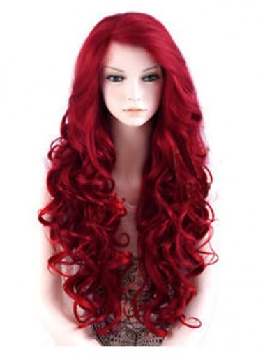Red Wigs Lace Front Shoulder Length Bob Cut Short Thin Hairstyles Bright Red Hair Dye Gentleman Hairstyle Braided Mohawk Prom Hairstyles