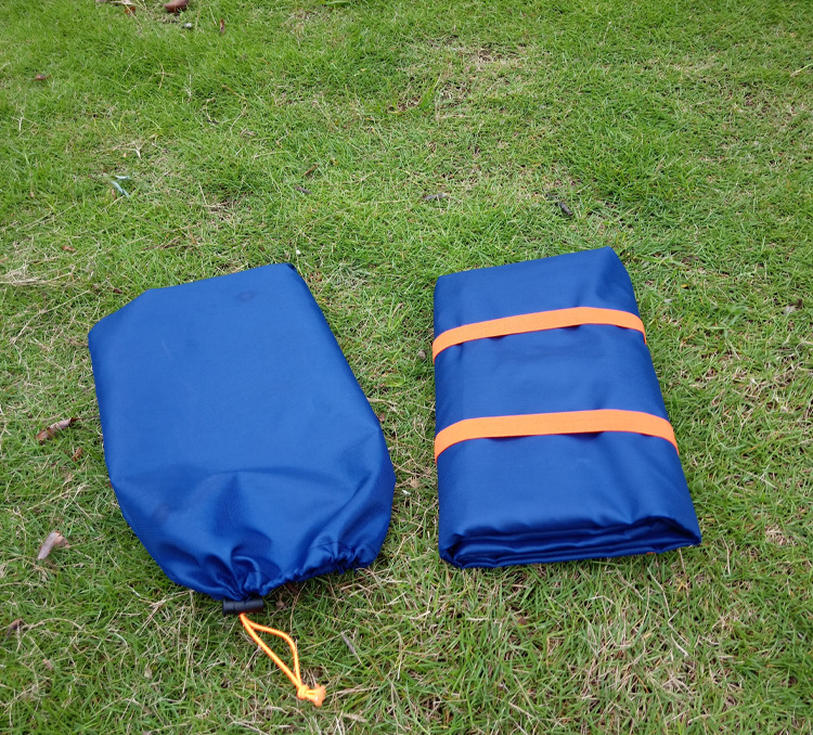 Outdoor Multifunctional Oxford Cloth Carpet Travel Bag Beach Bag Picnic Bag Cushion Carpe Folding Storage Bag