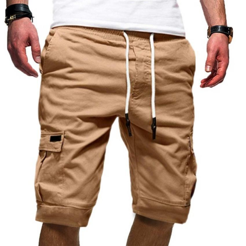 【Support Made in America】Men's Solid Color Sports Casual Shorts