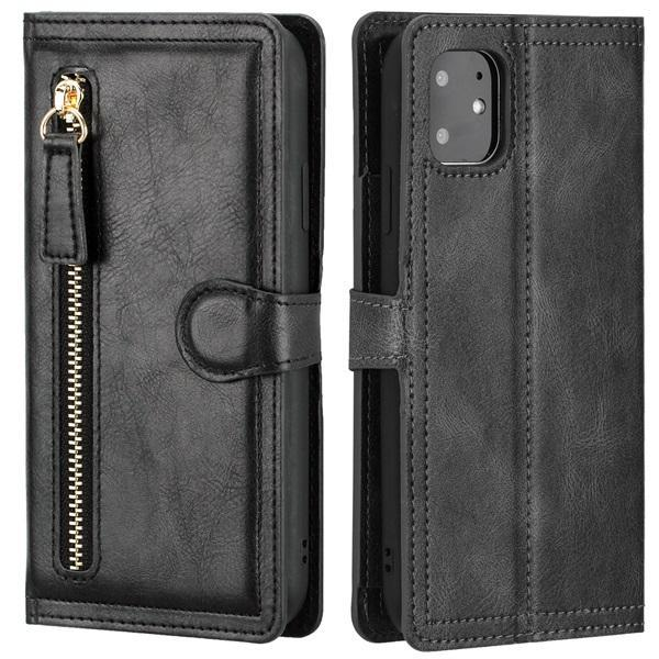 Wallet Phone Case with Magnetic Closure for iPhone