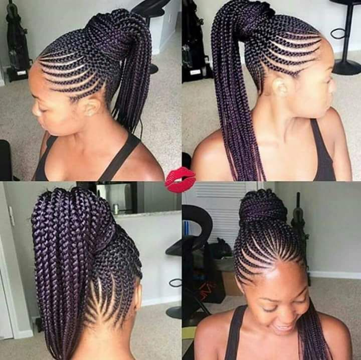 Best Braiding Hairstyles African American Hair 715 Store Natural Hair Styles For Black Girls Long Senegalese Twist Wavy Hair Style