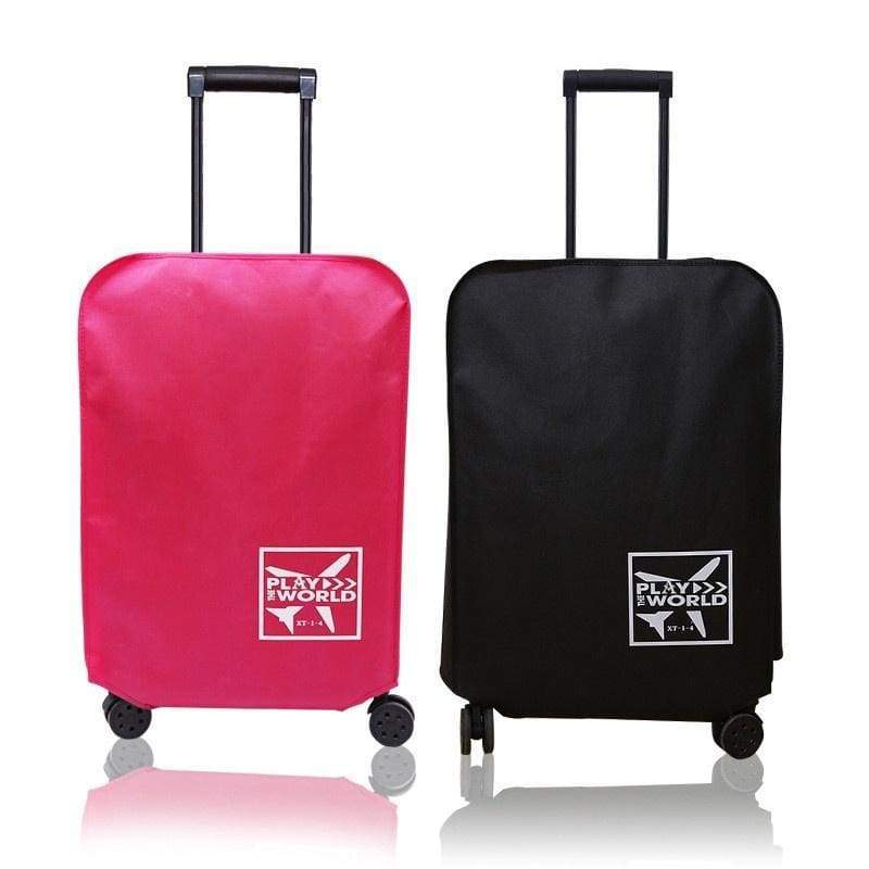 1 PC Travel High Elastic Cloth Luggage Cover Dust Cover Suitcase Protective Covers