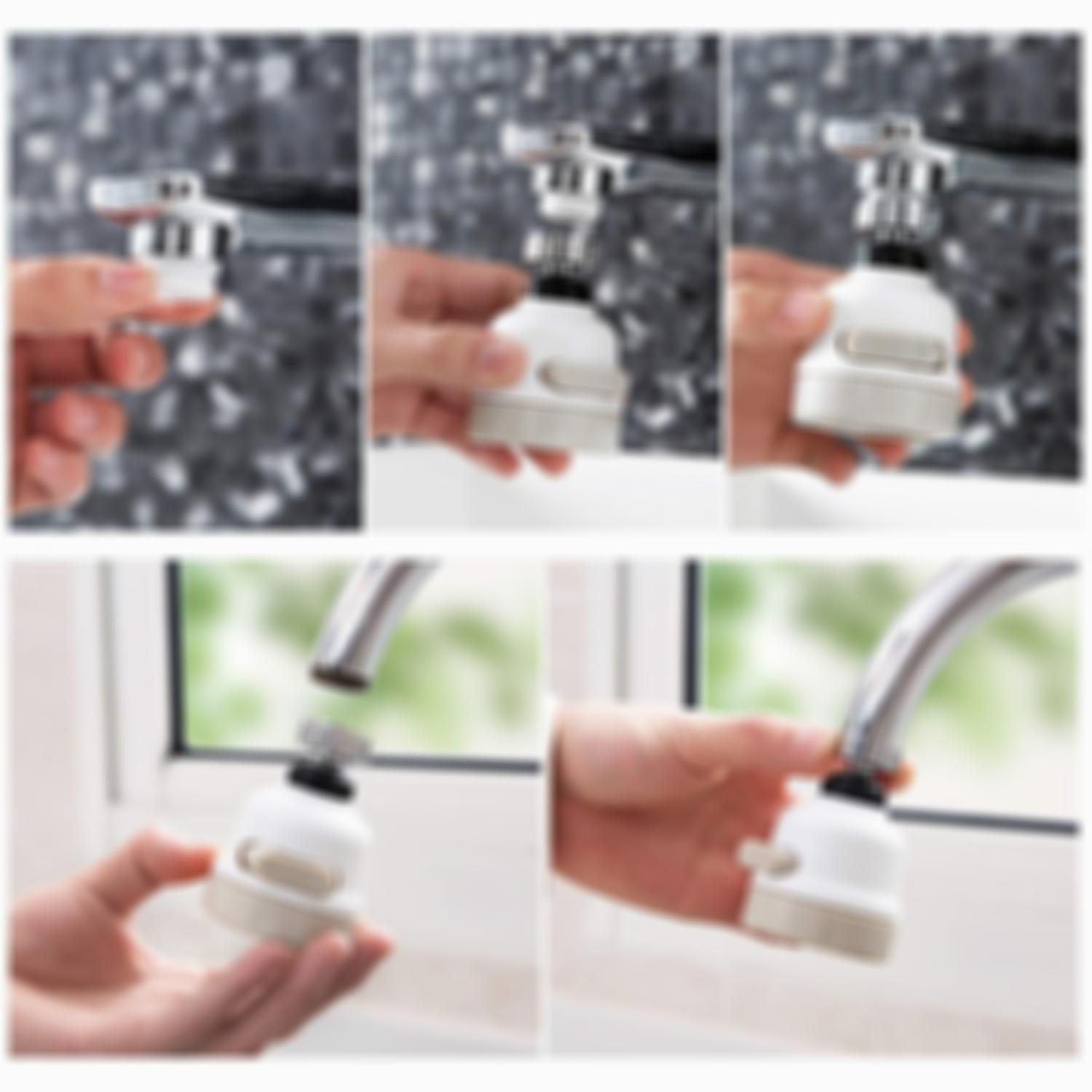 360° Rotating Faucet Booster Shower-Buy 2 Free shipping