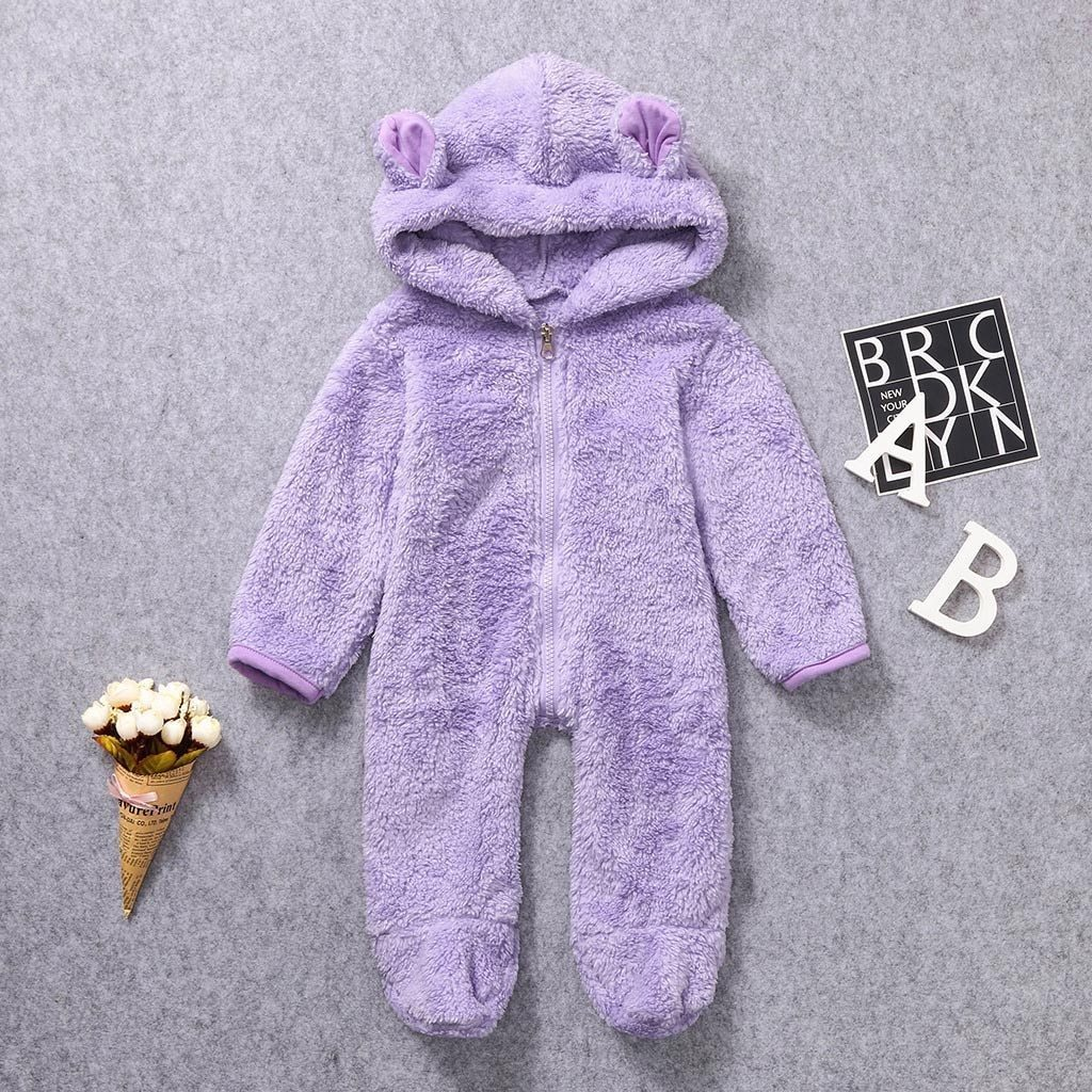 Baby Romper Hooded