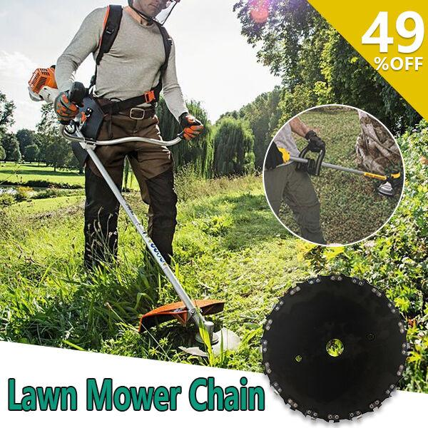 High-powered grass cutter designed to shape up your yard! - Load Mower Chain