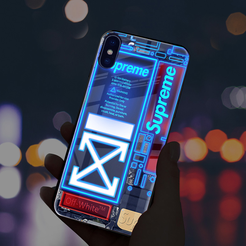 Glowing LED Call Flash Glass Case (50% OFF)