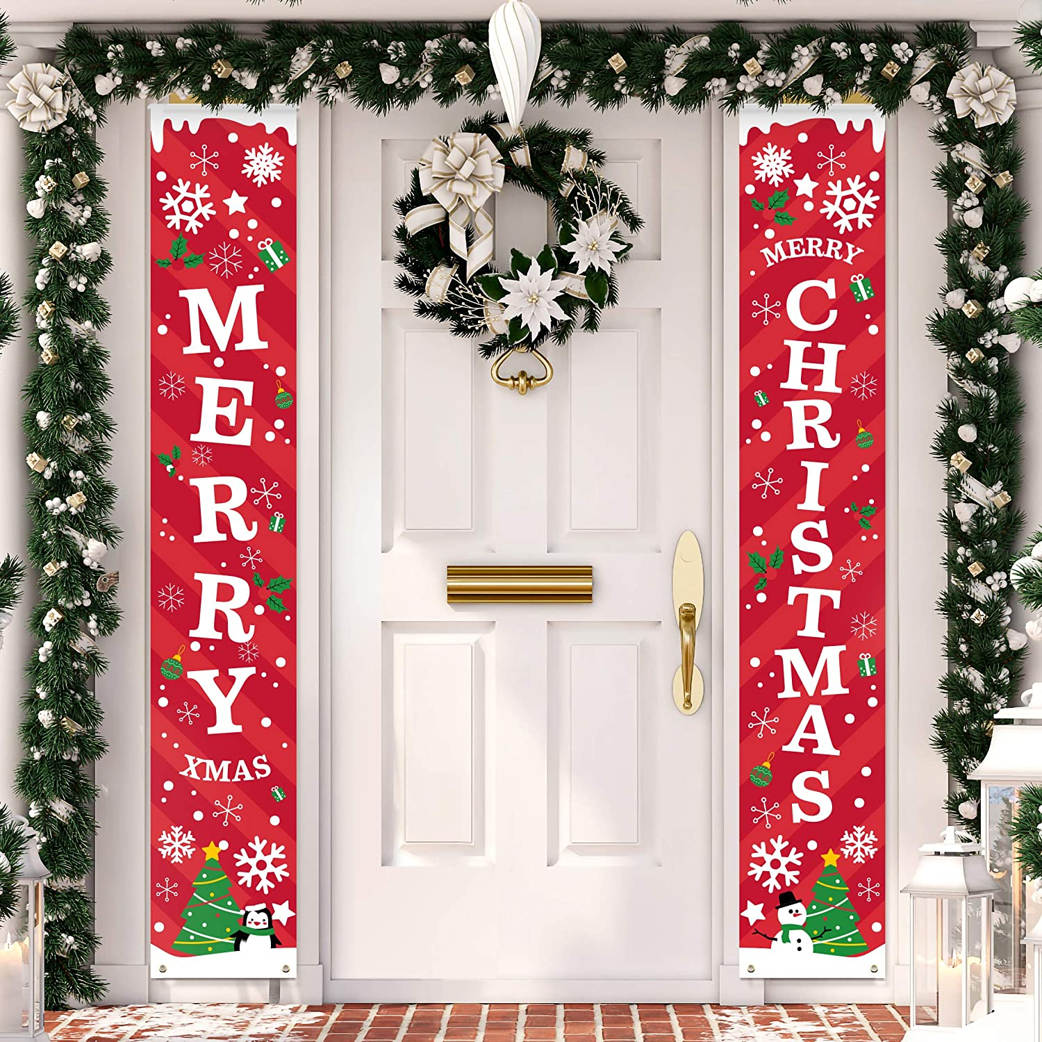 Christmas Sale! Porch Banner Decoration | Merry Christmas