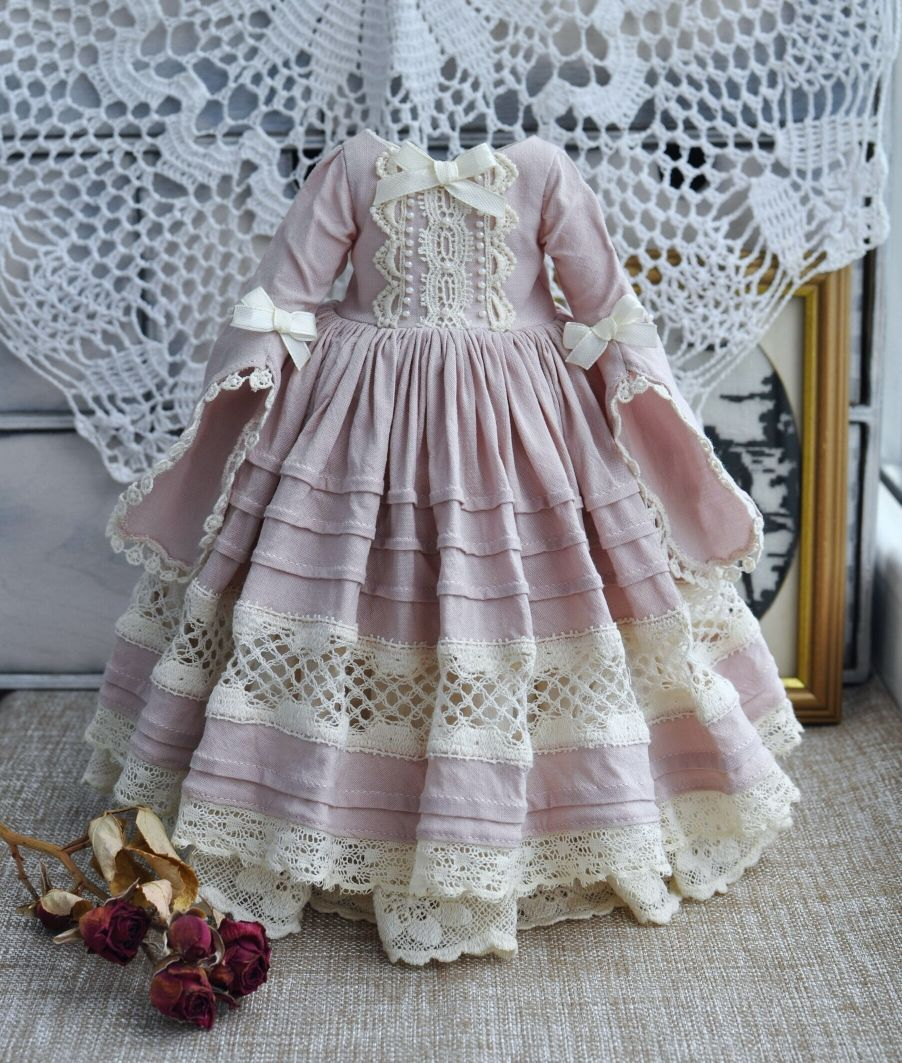 👧👧Little Darling Dianna Effner Doll with dress💝Lolita Style#18