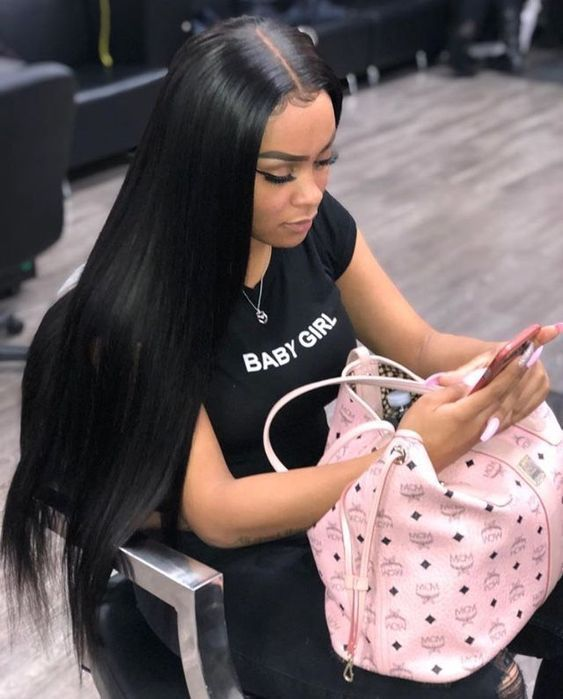Straight Wigs Lace Front Straight Weavon Mohawk Wig Black Black Owned Wigs Platinum Blonde Wig On Black Girl