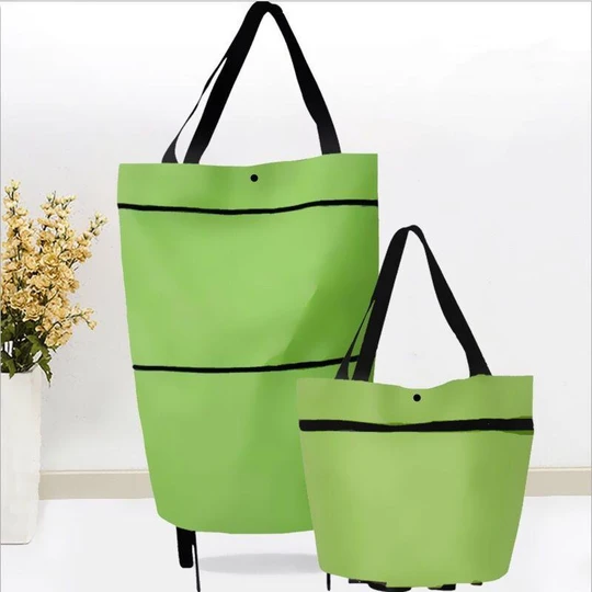 🔥Hot Sale🔥2 In 1 Foldable Shopping Cart(50% OFF)