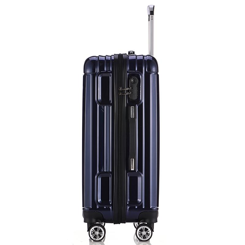 Classical Export Style ABS+PC Film Suitcase Trolley  roller bag-1.9