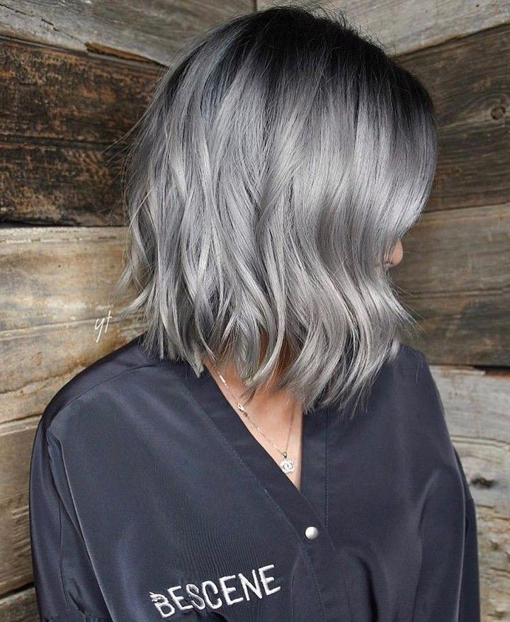 2021 New Lace Front Wigs Young Women With Gray Hair Brown Hair Going Grey Purple Curly Wig