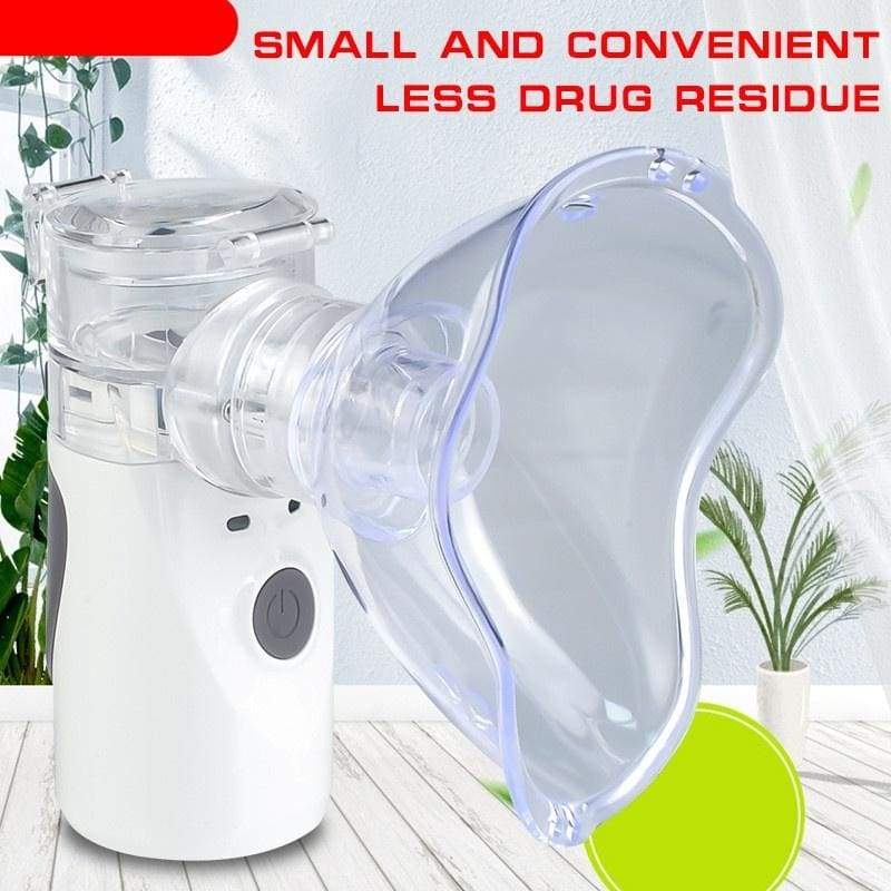 Mini Handheld portable Inhale Nebulizer silent Ultrasonic inalador nebulizador Children Adult kids inhaler atomizer