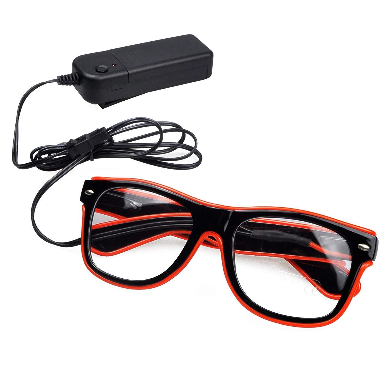 Luminous Glasses for Party/Cosplay/Festival