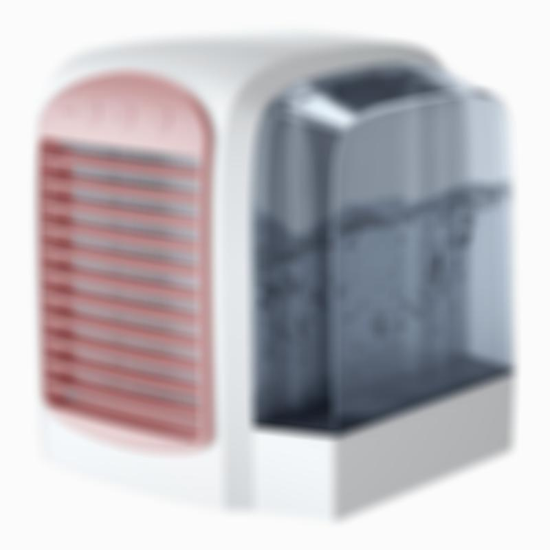 Mini Portable Air Cooler Fan Adding Water-cooled Air Conditioner Office Home Desktop Use