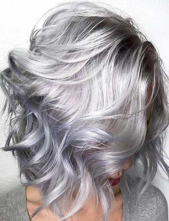 2020 New Gray Hair Wigs For African American Women Ursula Wig Smokey Grey Hair Color Best Shampoos For Gray Hair Anna Wig Platinum Blonde Bob