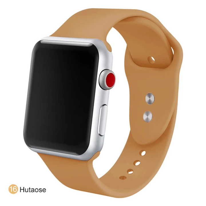Soft Silicone Replacement Sport Strap Compatible with 2018 Watch Series 4/3/2/1