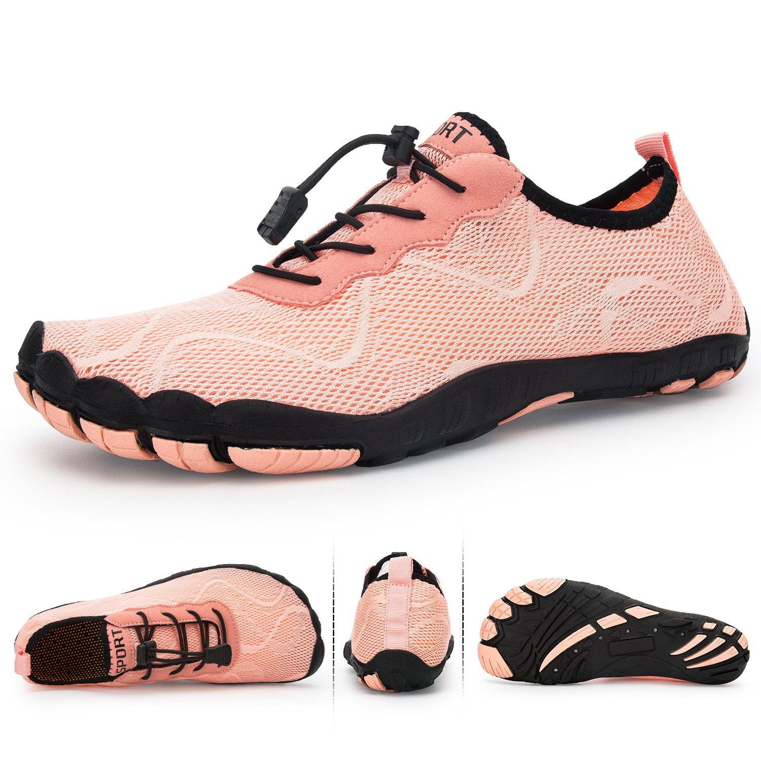 Women's beach diving five-finger shoes brook swimming shoes