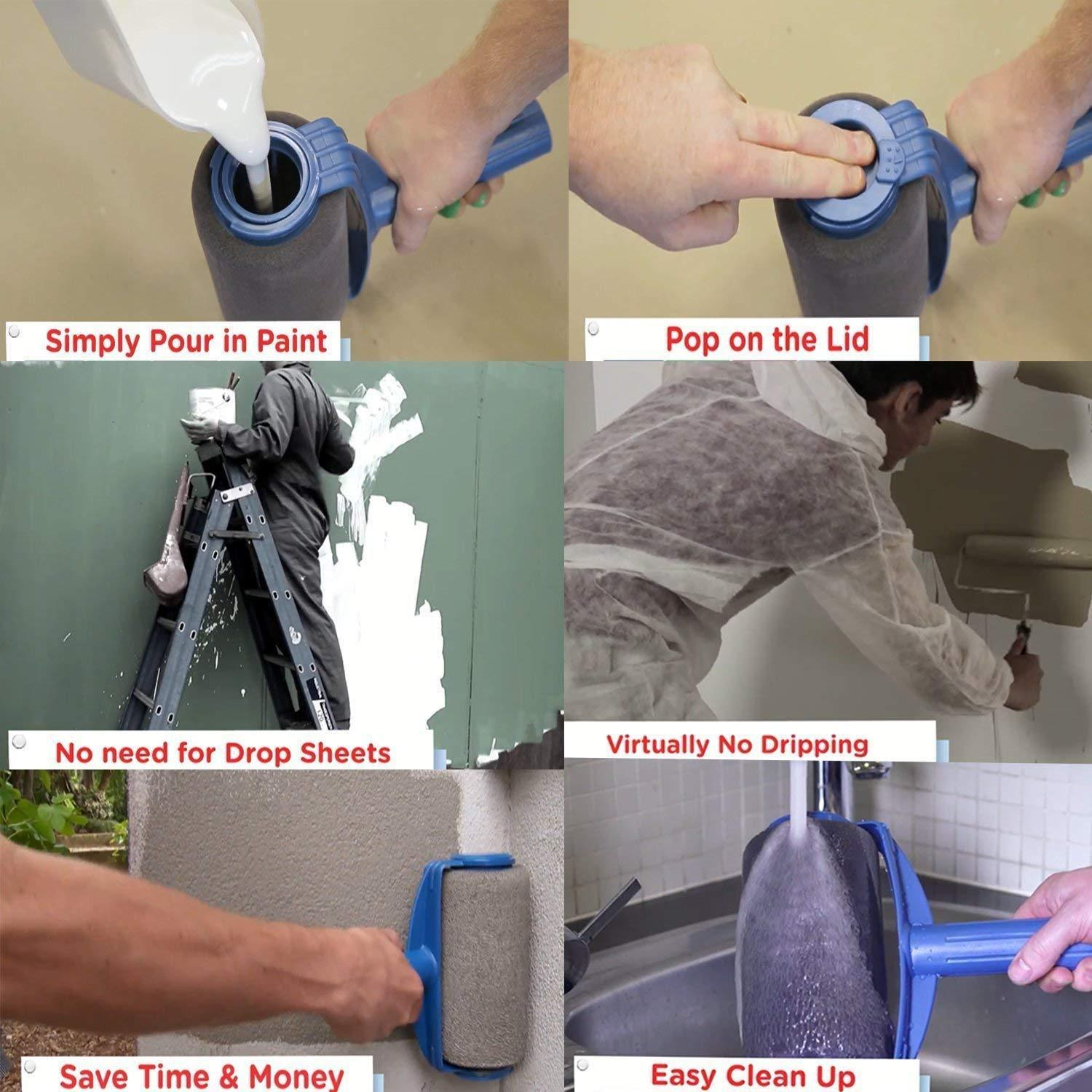 The Rollo™ - Pro Paint Roller [Replacement Head]