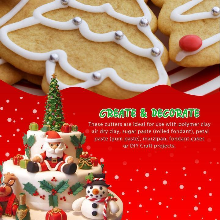Christmas Cookies Cutters (22 PCs)