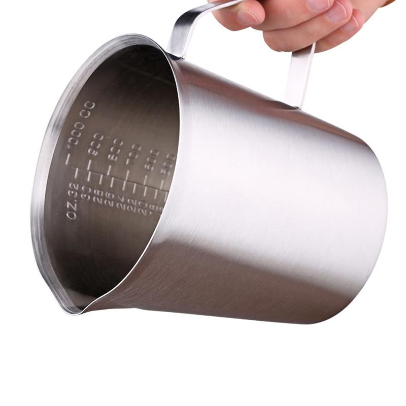 Thick Stainless Steel Measuring Cup with Scale Large Capacity Measuring Cup