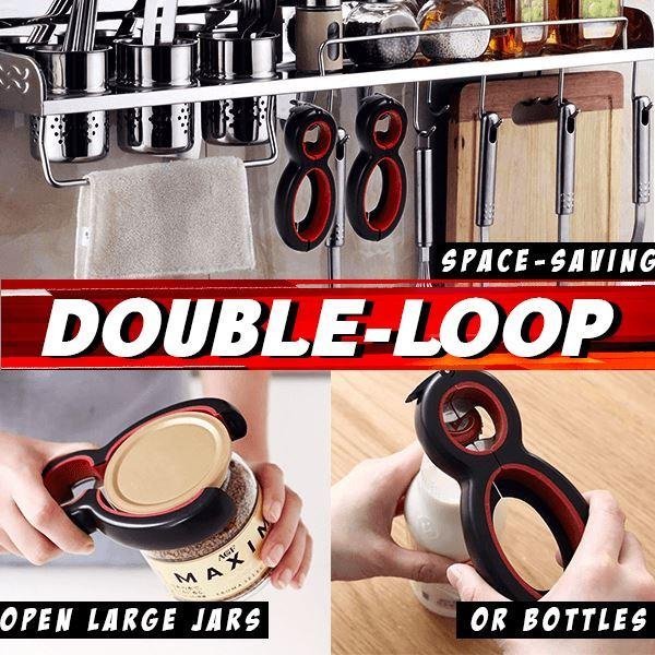 6-in-1 Ultimate Can Opener(Two-piece Set)