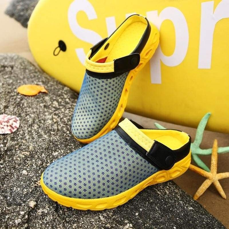 8 Colors New Fashion Hot Sale Spring Summer Autumn Men's Fashion and Women's Fashion Slippers Flats Shoes Sandals Shoes Hollow Out Sandals Travel Outdoor Lovers Leisure Slippers Slip-on Breathable Mesh Shoes Leisure Shoes Unisex Couples Casual Shoes Plus