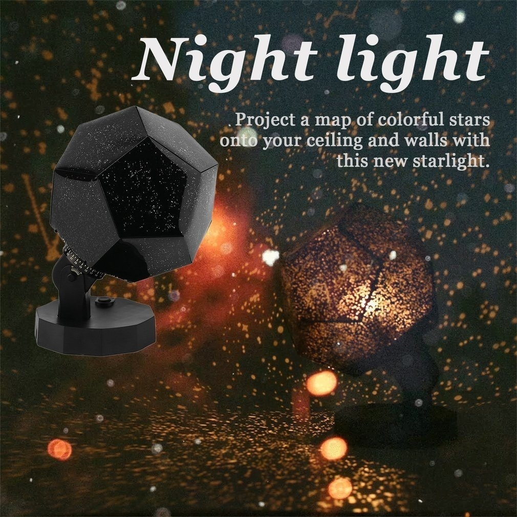 Star Sky Projector Cosmos Night Lamp LED Projection Lamp Bedroom Decoration