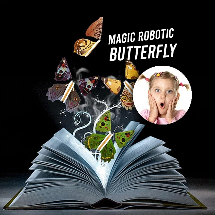 (Early Christmas Sale 50% OFF)- Magic Butterfly Flying Card Toy
