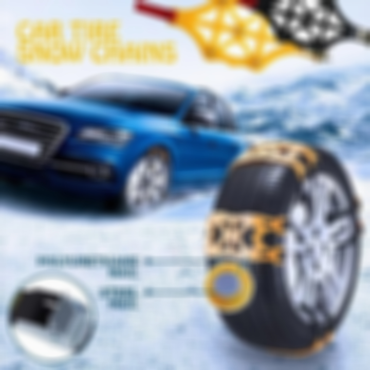 (BLACK FRIDAY PROMOTION — Save 50%OFF)Car tire snow chains